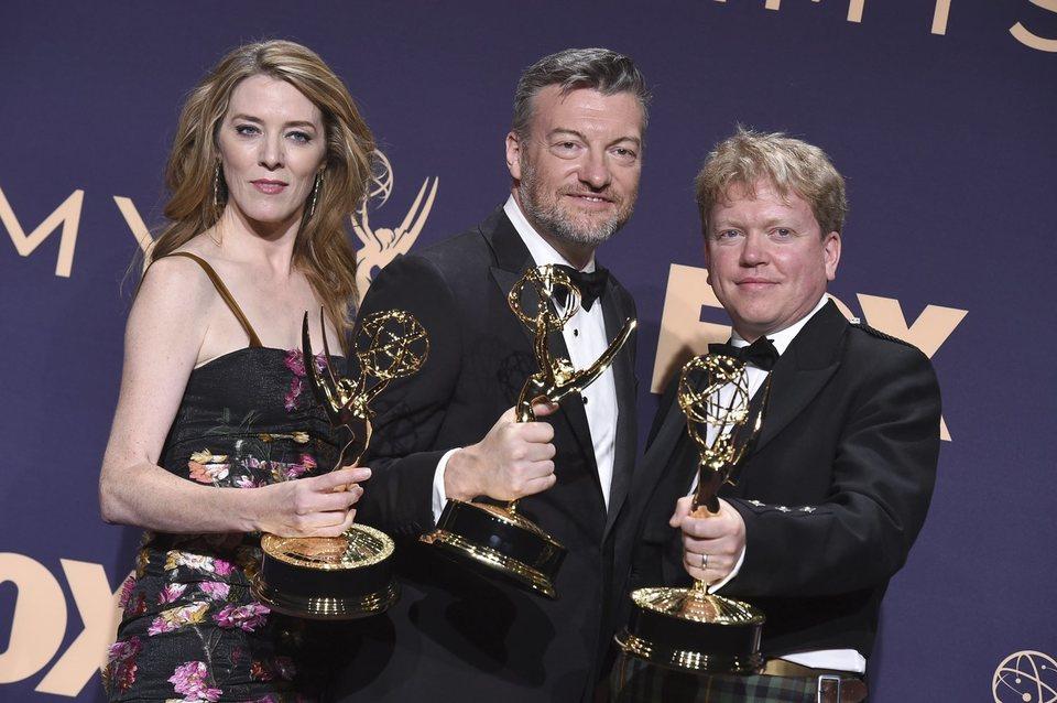 El equipo de 'Black Mirror: Bandersnatch' Emmy 2019
