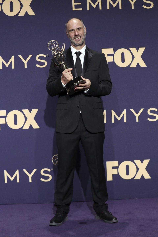 Jesse Armstrong Emmy 2019