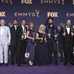 El equipo de 'Chernobyl' Emmy 2019