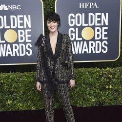 Phoebe Waller-Bridge en la alfombra roja de los Globos de Oro 2020