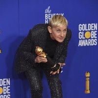 Ellen DeGeneres gana el premio Carol Burnett en los Globos de Oro 2020