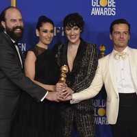 El reparto de 'Fleabag' con el Globo de Oro 2020 a Mejor serie de comedia
