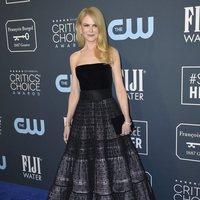 Nicole Kidman en la alfombra de los Critics' Choice Awards 2020