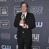 Quentin Tarantino en la alfombra roja de los Critics' Choice Awards 2020