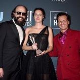 El reparto de 'Fleabag' en la alfombra roja de los Critics' Choice Awards 2020
