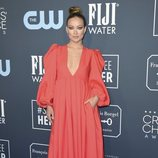Olivia Wilde en la alfombra de los Critics' Choice Awards 2020