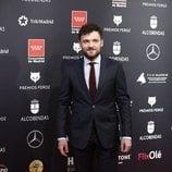 Adam Jezierski en la alfombra roja de los Premios Feroz 2020