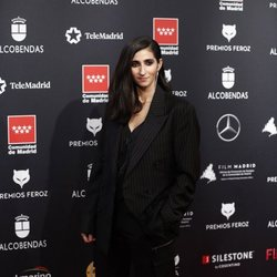 Alba Flores en la alfombra roja de los Premios Feroz 2020