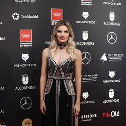 Amaia Salamanca en la alfombra roja de los Premios Feroz 2020