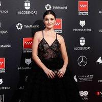 Marta Torné en la alfombra roja de los Premios Feroz 2020