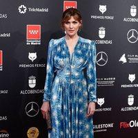 Marta Nieto en la alfombra roja de los Premios Feroz 2020