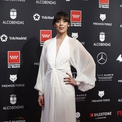 Belén Cuesta en la alfombra roja de los Premios Feroz 2020