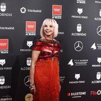 Victoria Abril en la alfombra roja de los Premios Feroz 2020