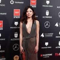 Anna Castillo  en la alfombra roja de los Premios Feroz 2020