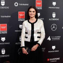 Penélope Cruz en la alfombra roja de los Premios Feroz 2020
