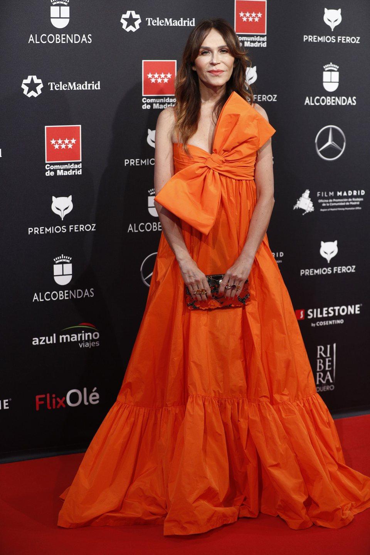 Antonia San Juan en la alfombra roja de los Premios Feroz 2020