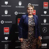 Gloria Serra en la alfombra roja de los Premios Feroz 2020