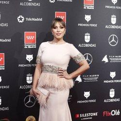 Gisela en la alfombra roja de los Premios Feroz 2020