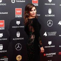 Mónica Cruz en la alfombra roja de los Premios Feroz 2020
