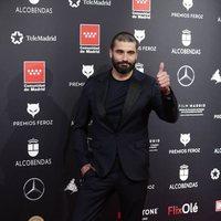 Álex García en la alfombra roja de los Premios Feroz 2020