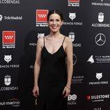 Nuria Gago en la alfombra roja de los Premios Feroz 2020