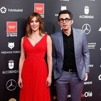 Eva Ugarte y Berto Romero en la alfombra roja de los Premios Feroz 2020