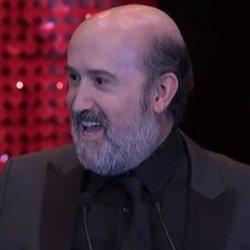 Javier Cámara durante la gala de los Premios Feroz 2020