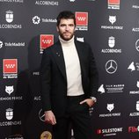 Alfonso Bassave en la alfombra roja de los Premios Feroz 2020