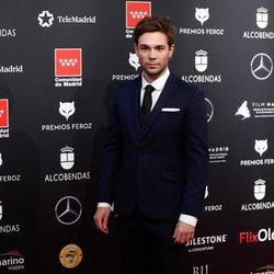 Carlos Cuevas en la alfombra roja de los Premios Feroz 2020