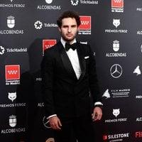 Eduardo Rosa en la alfombra roja de los Premios Feroz 2020