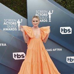 Kathryn Newton en la alfombra roja de los SAG Awards 2020
