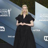Gwendoline Christie en la alfombra roja de los SAG Awards 2020
