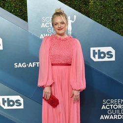 Elisabeth Moss en la alfombra roja de los SAG Awards 2020