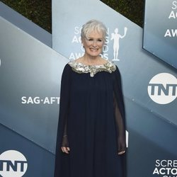 Glenn Close en la alfombra roja de los SAG Awards 2020