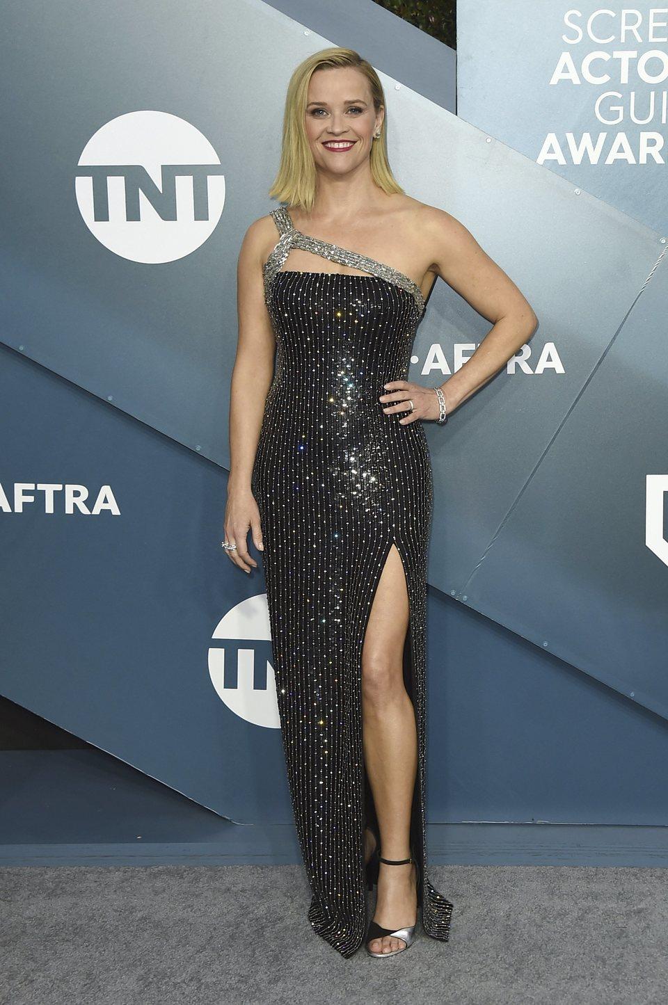 Reese Witherspoon en la alfombra roja de los SAG Awards 2020