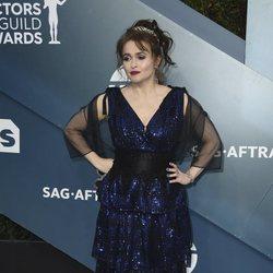 Helena Bonham Carter en la alfombra roja de los SAG Awards 2020
