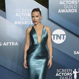 Scarlett Johansson en la alfombra roja de los SAG Awards 2020
