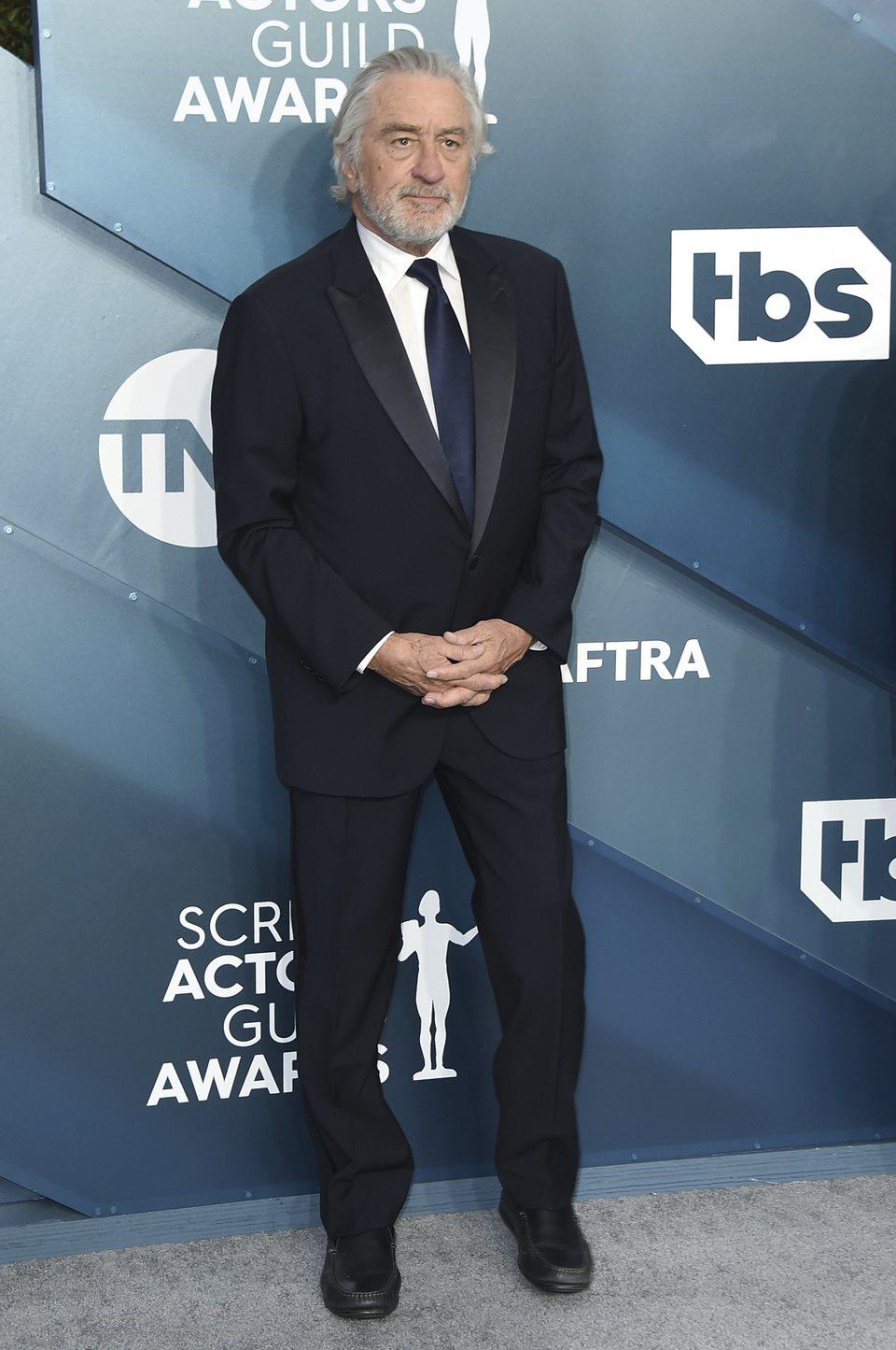 Robert De Niro en la alfombra roja de los SAG Awards 2020