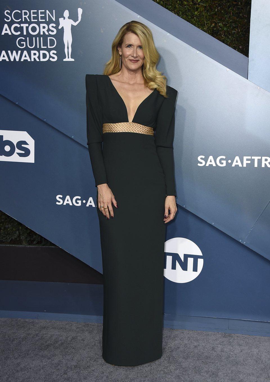 Laura Dern en la alfombra roja de los SAG Awards 2020