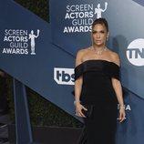 Jennifer Lopez en la alfombra roja de los SAG Awards 2020