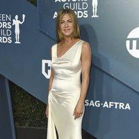 Jennifer Aniston en la alfombra roja de los SAG Awards 2020