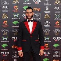Antonio Velazquez en la alfombra roja de Premios Goya 2020