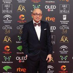 Jesús Vidal en la alfombra roja de los Premios Goya 2020