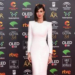 paz vega en la alfombra roja de los Premios Goya 2020