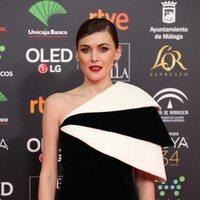 Marta Nieto en la alfombra roja de los Premios Goya 2020