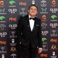 Mariano Peña en la alfombra roja de los Goya 2020