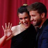 Amaia y Pablo Alborán en la alfombra roja de los Premios Goya 2020