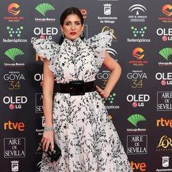 Lucía Jiménez en la alfombra roja de los Premios Goya 2020