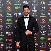 Miguel Angel Muñoz en la alfombra roja de los Premios Goya 2020