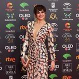 Cuca Escribano en la alfombra roja de los Premios Goya 2020